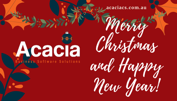 Merry Christmas and Happy New Year from Acacia